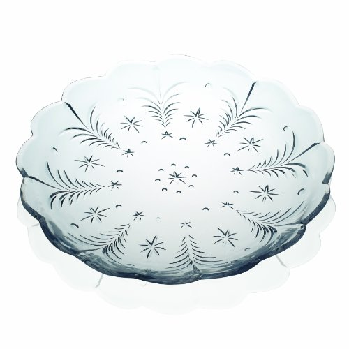 Celebrations by Mikasa Christmas Night 15-Inch Glass Platter