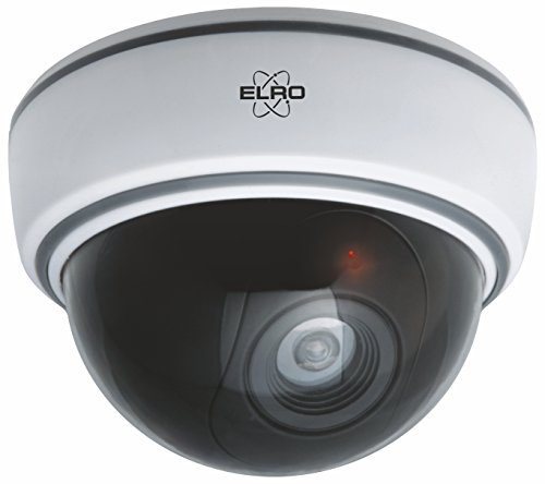 ELRO CDD15F Telecamera Dummy Dome per interni con luce flash