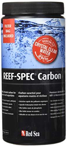 REEF Red Sea Spec Carbon - Aquarium Filter Media (1000 Ml/ 32 Oz), Black