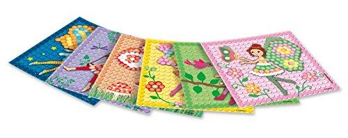 PlayMais 160278 - Card Set Mosaic Dream Fairy, Bastelset
