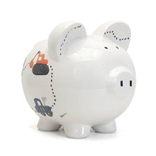 Construction Truck Piggy Bank