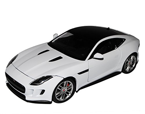 Welly Jaguar F-Type Coupe Weiss Ab 2013 1/24 Modell Auto