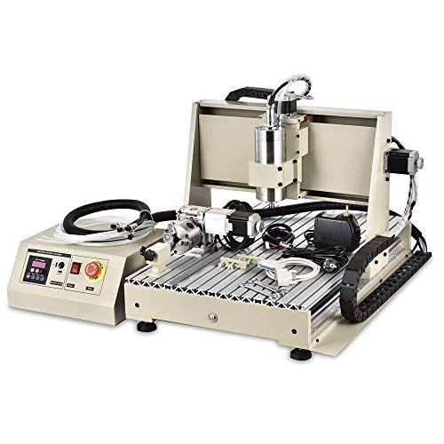 BTdahong 4Achse CNC 6040 Graviermaschine 1.5KW VFD Fräser Fräsmaschinen Paralleler Anschluss Graveur Wassergekühlt Graviermaschine