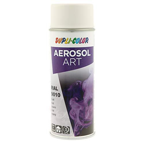 DUPLI-COLOR 741548 AEROSOL ART RAL 9010 reinweiß matt 400 ml