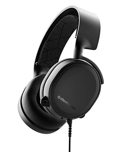 SteelSeries Arctis 3 (2019 Edition) All-Platform Gaming Headset for PC, PlayStation 4, Xbox One, Nintendo Switch, VR, Android, and iOS - Black (Renewed)