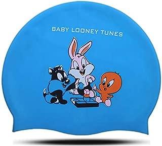 Gorras para Natación Infantil Modelo Baby Looney Tunes Azul
