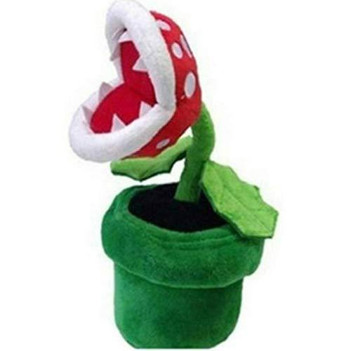 JMHomeDecor Plüschtier Super Mario Plüsch Piranha Pflanze Mario Plüsch 22Cm Anime Spielzeug Gefüllte Spielzeuge Für Kinder Kuscheltier Kinder Geschenk