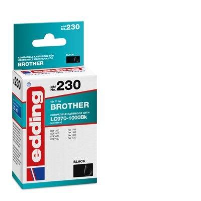 Inkjet Patrone Edding 230 schwarz EDD 18-230 WIE BRO Lc970 Lc1000