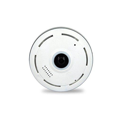 Hoge resolutie 960P P2P Panoramische Wifi Camera, Nachtzicht, Bewegingsdetectie, Surveillance Webcam Systeem Ondersteuning Micro 128G SD/TF kaart Voor Indoor Beveiliging