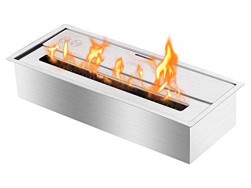 Affordable IGNIS Eco Hybrid Bio Ethanol Ventless Fireplace Burner Insert - EHB1800