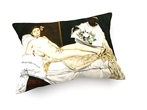 weewado Eduard Manet - Olympia - 1863-60x40 cm - Cojines del sofá - Arte, Imagen, Pintura, Foto - Old Masters/Museum