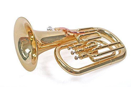 Karl Glaser Bb Euphonium Baritonhorn 3 Pumpventile, Monel, Goldmessing Mundrohr