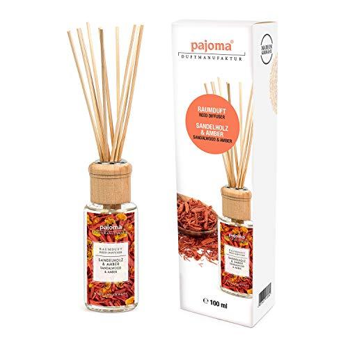 pajoma Raumduft Sandelholz & Amber, 1er Pack (1 x 100 ml) in Geschenkverpackung