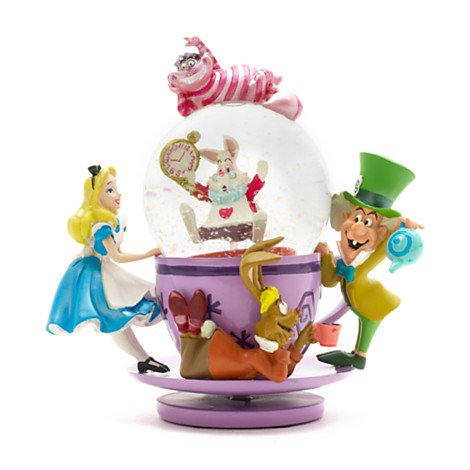 Alice im Wunderland-Tee-Party-Schnee-Kugel