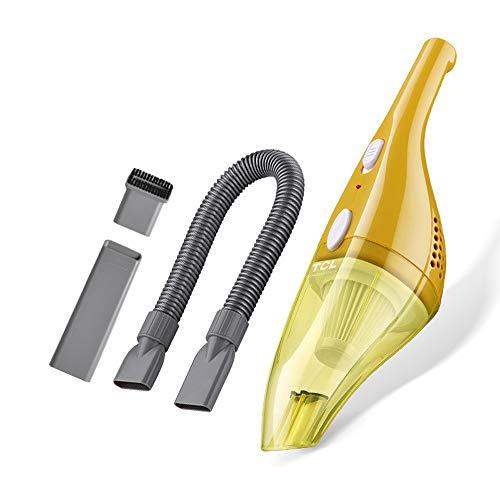 NCBH Draadloze stofzuiger, sterk zuigvermogen voor familie en auto, hoge prestaties, draadloos, 2000 mAh, 220 V, 50 W