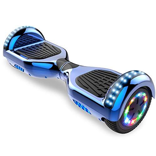 CITYSPORTS Hoverboard 6.5 Pulgadas Hover Board Bluetooth, Patinete Eléctrico Self-Balance Board...