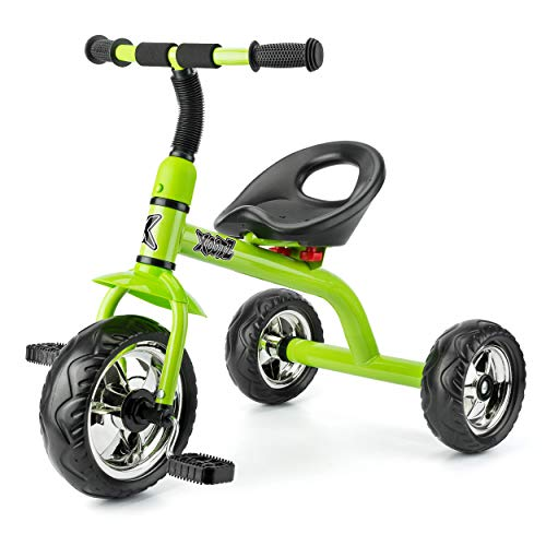 Xootz Dreirad mit Easy Clip Montage Trike–grün