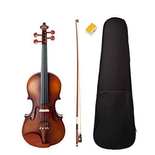 gazechimp Violino da Studio Misura 4/4 Soundsation Virtuoso Completo di Astuccio ed Arco di Violino,Colofonia per Violino