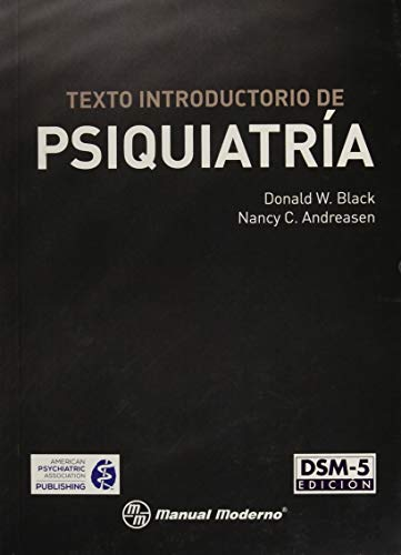 Texto introductorio de Psiquiatria - DSM-5 edicion