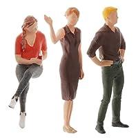 F Fityle 人間 人形 人物 人間フィギュア 塗装人 塗装フィギュア 箱庭 装飾 鉄道模型 建物模型 情景コレクション