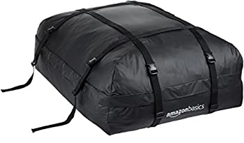 Amazon Basics Rooftop Cargo Carrier Bag Black 15 Cubic Feet