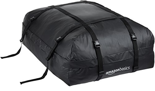Our #7 Pick is the Amazon Basics Rooftop Carrier Bag