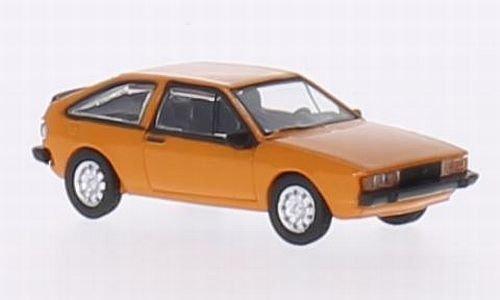 VW Scirocco 2, orange, 1980, Modellauto, Fertigmodell, Norev 1:87