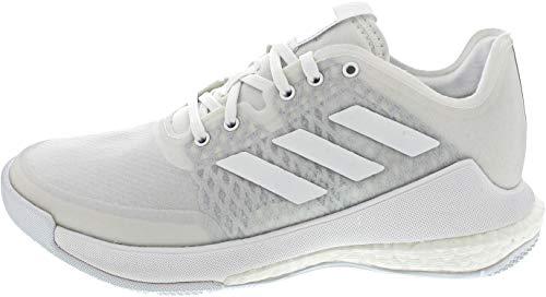 adidas Damen Crazyflight W Sneaker, Ftwbla/Ftwbla/Ftwbla, 39 1/3 EU