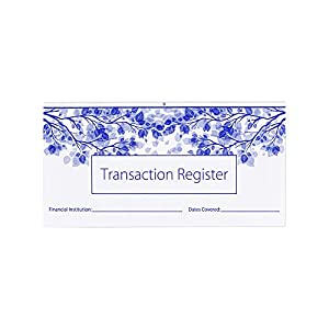Checkbook Registers for Personal Checkbook, Transactions Ledgers, Pack of 10, 2020-2021-2022