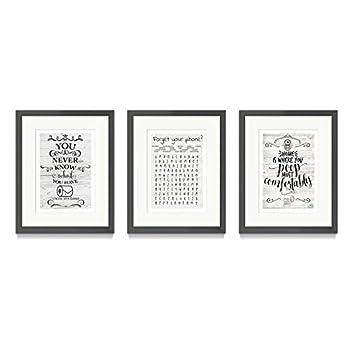 Best bathroom framed wall art Reviews