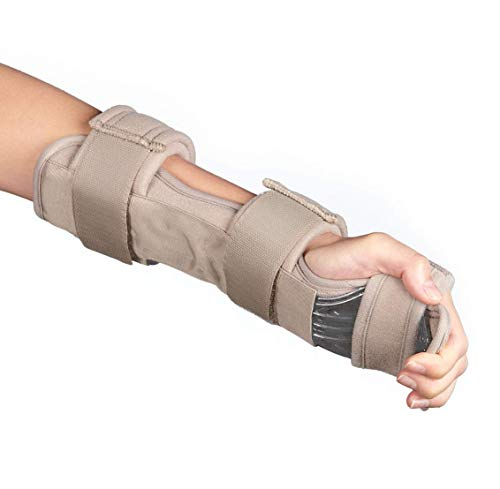 Resting Hand Splint Night Wrist Splint Immobilizer Stroke Hand Brace Support Rehab Hand Splint Soft Professional Functional Support Immobilizer Finger Wrist Fracture -1 Unit (Universal)