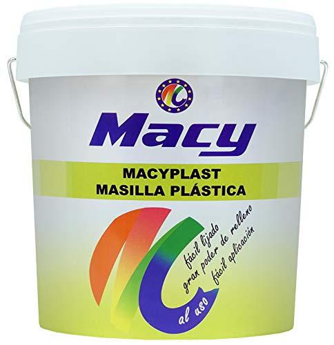 Masilla Acrílica Macyplast Al Uso. Para Interior y Exterior. Envase de 250 Gramos