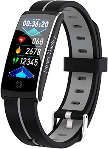 Pulsera inteligente para hombres y mujeres s Fitness Tracker impermeable Actividad Mensaje pulsera deportiva-C-C