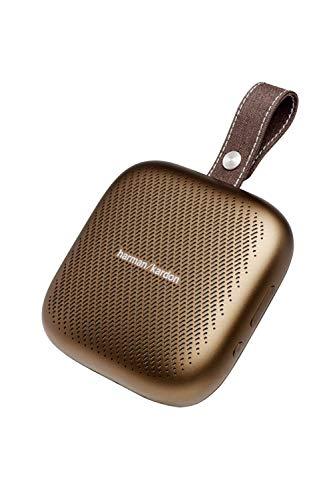 Harman Kardon NEO ワイヤレスポータブルスピーカー Bluetooth/防水/IPX7対応/最大10時間再生/ノイズキャンセリングスピーカーホン機能搭載 カッパー HKNEOBRNBSG【日本正規代理店品】