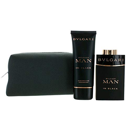 Bvlgari Bvlgari Man In Black For Men 3 Pc Gift Set