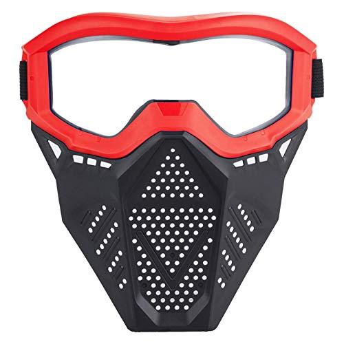Further Protector Facial Táctico con Gafas Compatibles con Rival, Apollo, Zeus, Khaos, Atlas Y Artemis Blasters Rival Face Protector Ajustable