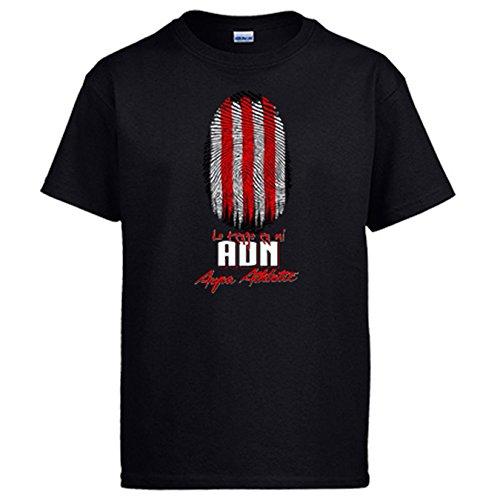 Diver Camisetas Camiseta lo Tengo en mi ADN Athletic fútbol - Negro, XL