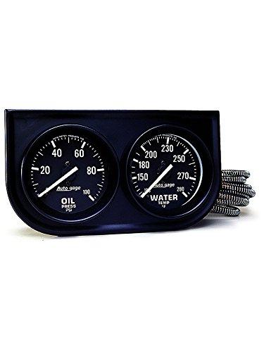 AUTOMETER 2392 2IN 2GAUGEPANEL Autometer Autogage Mechanical Oil