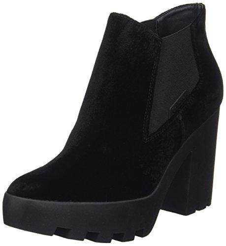 Calvin Klein Damen Sandy Velvet Stiefel, Schwarz (Black), 39 EU