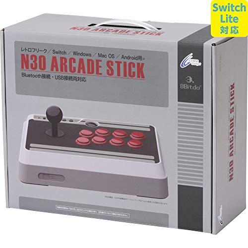 【Switch Lite対応】 8BITDO NES30 Arcade Stick