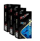 KamaSutra Dottmax Condoms for Men | 2064 Power Dots | Made with Natural