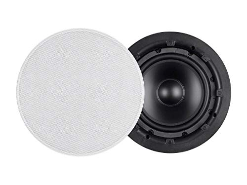 Monoprice in-Wall Speaker - 10 Inch Passive Subwoofer, 200 Watts Maximum (Single) - Aria Series