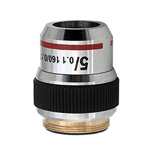 AmScope A5X 5X Achromatic Microscope Objective