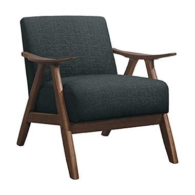 Lexicon Elle Accent Chair, Dark Gray