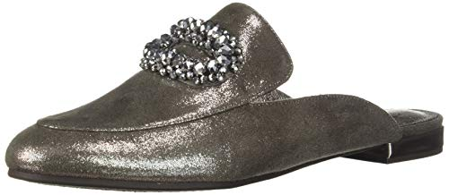 Adrianna Papell Women's Becky Mule, Pewter Mosaic Lame, 7 M US