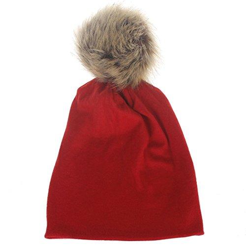 Thenice - Chapeau - Bébé (garçon) 0 à 24 mois taille unique - rouge - taille unique