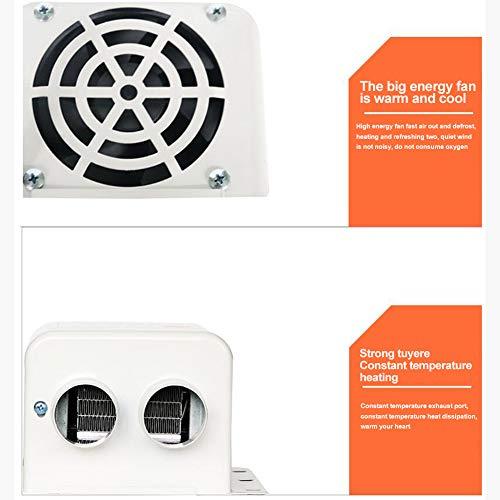 12V Auto Heizung Fan,MoreChioce 500W Tragbare Elektrischer Heizlüfter Auto Innenraumheizung Defroster Demister für Auto Wohnwagen Boote LKW Wohnmobil