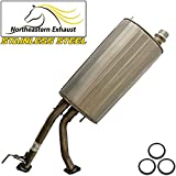 Stainless Steel Exhaust Center Muffler fits: 2001-2007 Toyota Sequoia 4.7L