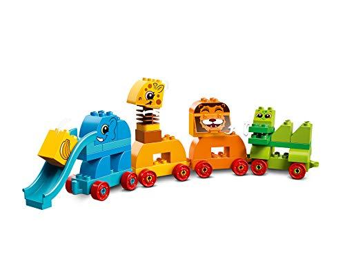LEGO(レゴ)『みどりのコンテナデラックスどうぶつでんしゃ10863』