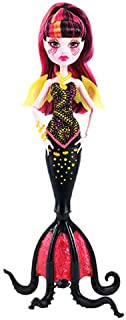 Monster High High Ent Great Scarrier Reef Customized Extension Drac & Clawdeen DJM27 Dolls